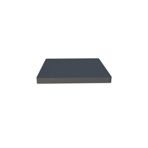 Capac stalp gard aluminiu, baza: 70x70mm, RAL 7016