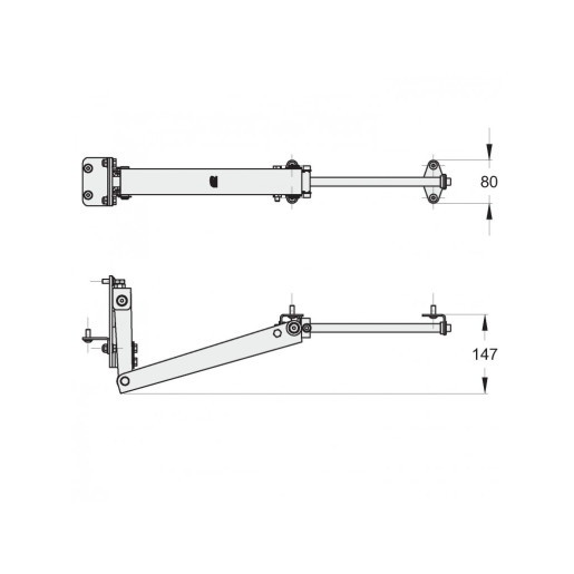 Sistem armonic porti batante
