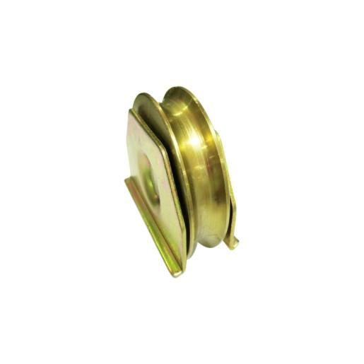 Rola semiingropata poarta culisanta profil U diametru 78 mm