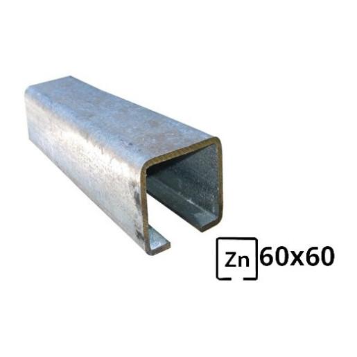 Sina pentru poarta autoportanta 60x60 zincata