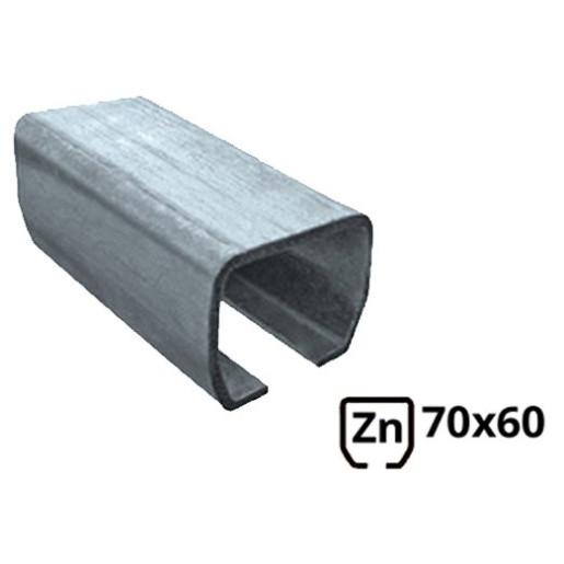 Sina pentru poarta autoportanta 70x60 zincata