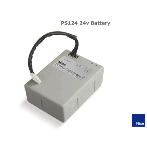 Baterie 24V cu incarcator integrat, Nice PS124