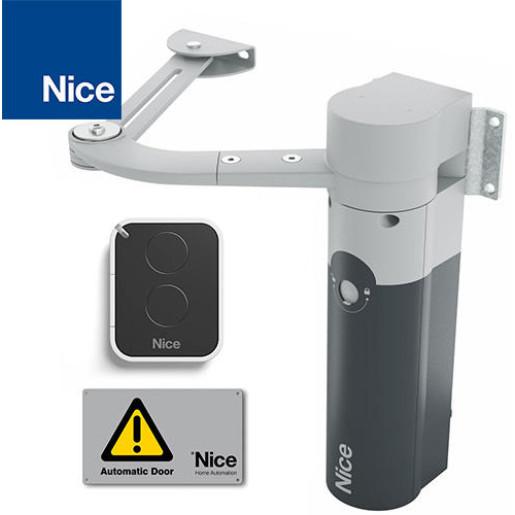 Automatizare cu brat articulat pentru porti batante, Nice WalkyKit 1024