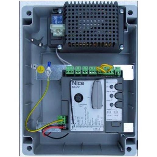 Automatizare porti batante 2x2m NICE Wingo2024 Kit