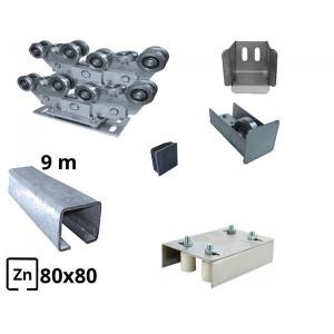 Sistem autoportant cu sina zincata pentru deschidere de 8 metri 500kg