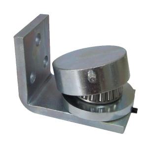 Balama inferioara pe rulment cu placa de fixare diametru 50mm