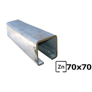 Sina pentru poarta autoportanta  70x70 zincata