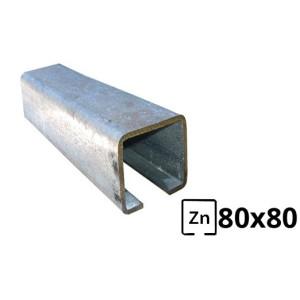 Sina pentru poarta autoportanta  80x80 zincata