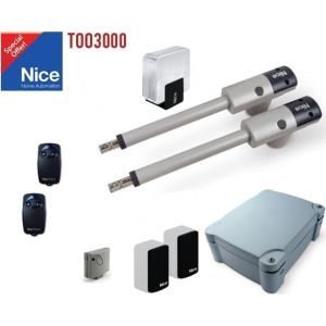 Automatizare porti batante 2x3m Nice Too3000 Kit