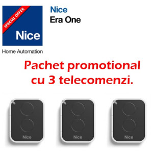 Pachet promotional cu 3 telecomenzi Nice ON2E