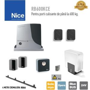 Automatizare poarta culisanta 600Kg Nice ROBUS600 KIT