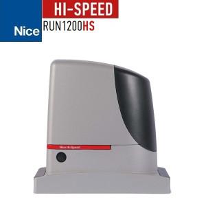 Motor automatizare poarta culisanta 1200kg, Nice RUN1200 High Speed