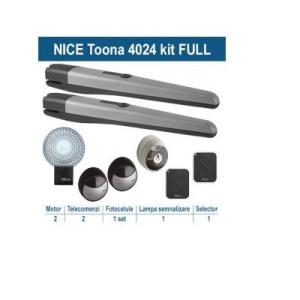 Automatizare porti batante 2x3m Nice Toona4024KCE