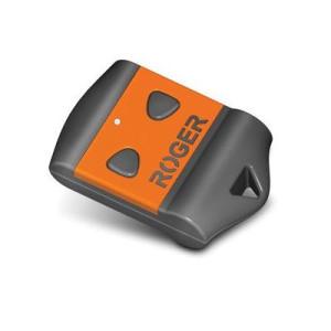 Telecomanda cu 2 butoane cod fix 433.92 Mhz Roger H80/TX22