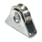 Rola aplicata  poarta culisanta profil V diametru 60mm