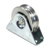 Rola aplicata poarta culisanta profil V diametru  80 mm