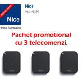 Pachet promotional cu 3 telecomenzi Nice FLO2RE